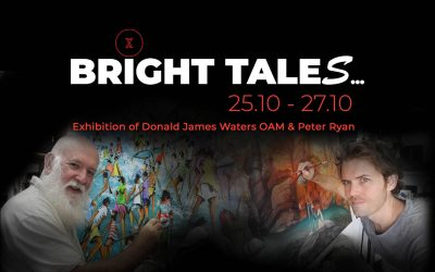 BRIGHT TALES…Exhibition with Donald James Waters