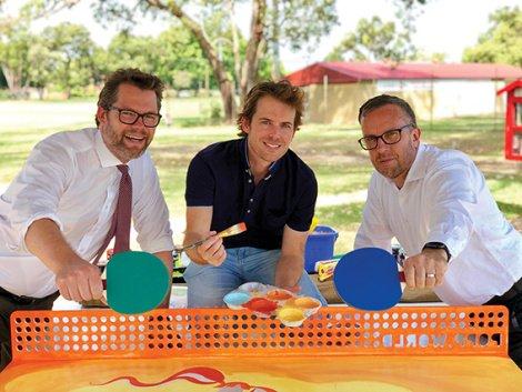 Peter Ryan Ping Pong Table