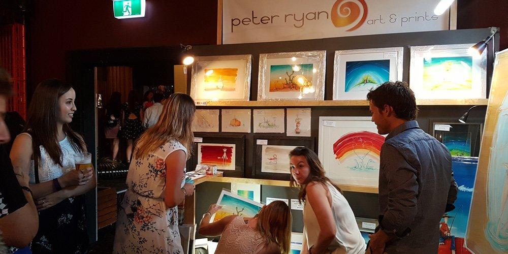 Peter Ryan display at RAW CUSP
