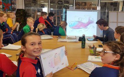 St James Anglican School Art Workshop