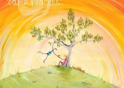 Cat and Peaches