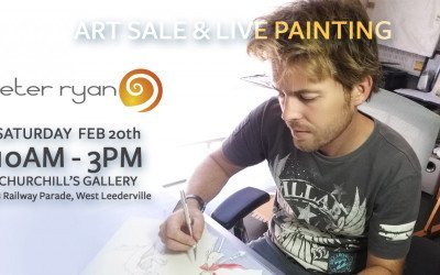 Art Sale and Live Painting