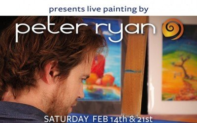 Live Painting @ Blue Lizard Gallery