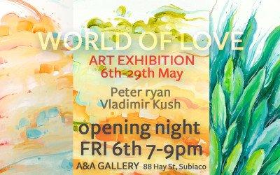World of Love Exhibition Subiaco