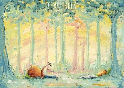 Teal Trees