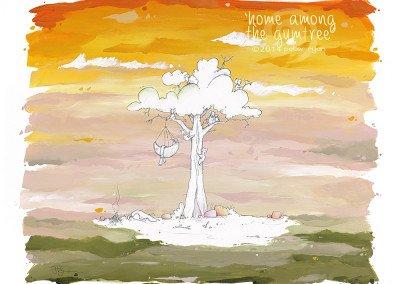 Home Among the Gum Tree